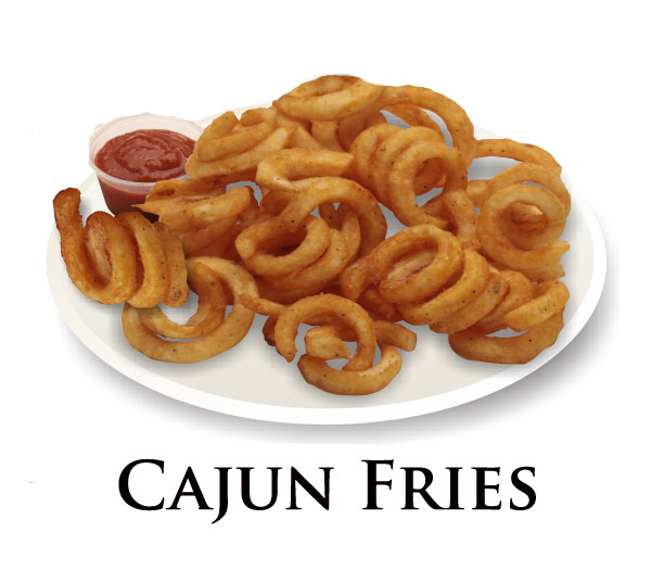Nicks Cajun Fries