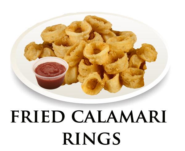 Nicks Calamari Rings Platter