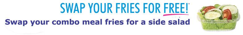 Swap Fries in Combos